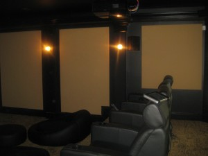 Noah Theater with acoustic treatments