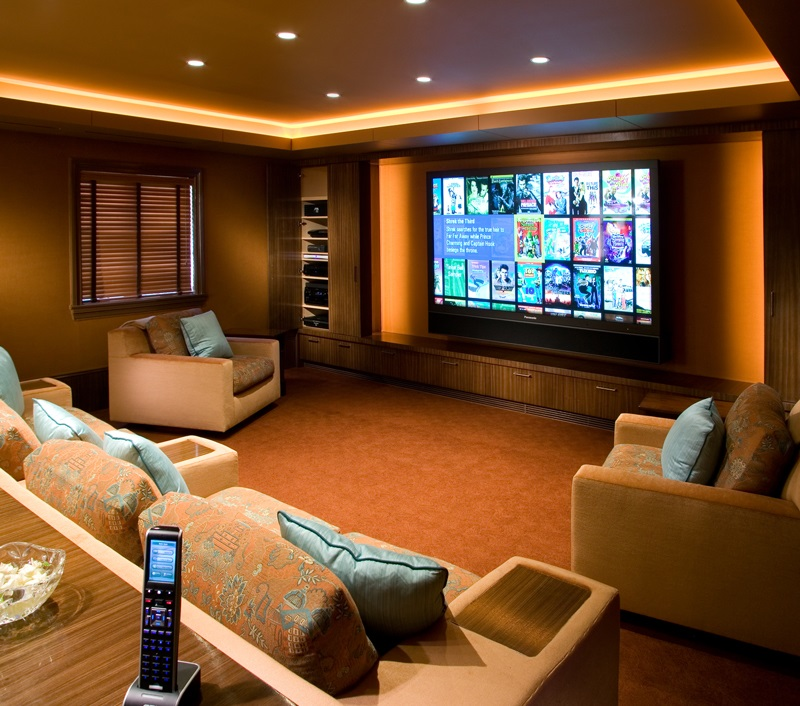 21 Incredible Home Theater Design Ideas Decor Pictures: Home Theater Systems & Home Theater Installation