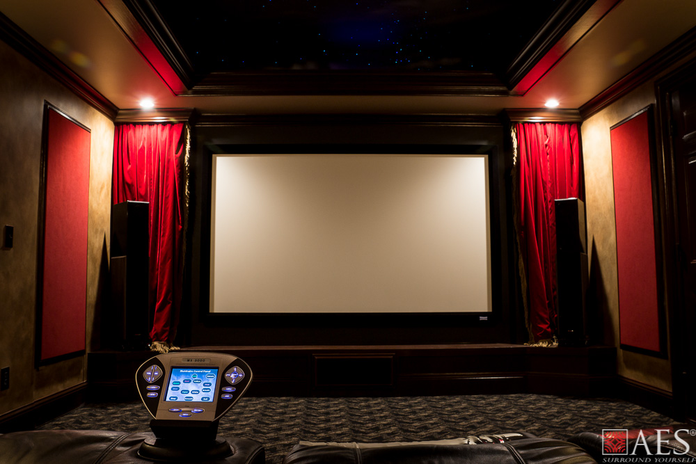 Audio video interiors atlanta ga custom home theater for Custom home theater design