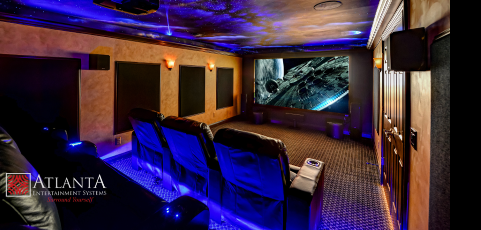 Home Theater Installation, Brookhaven GA, Buckhead, Fayetteville