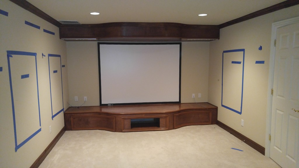 Home Theater in Marietta, Atlanta, Buckhead