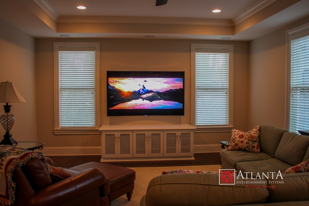 home theater systems home theater installation atlanta. Black Bedroom Furniture Sets. Home Design Ideas