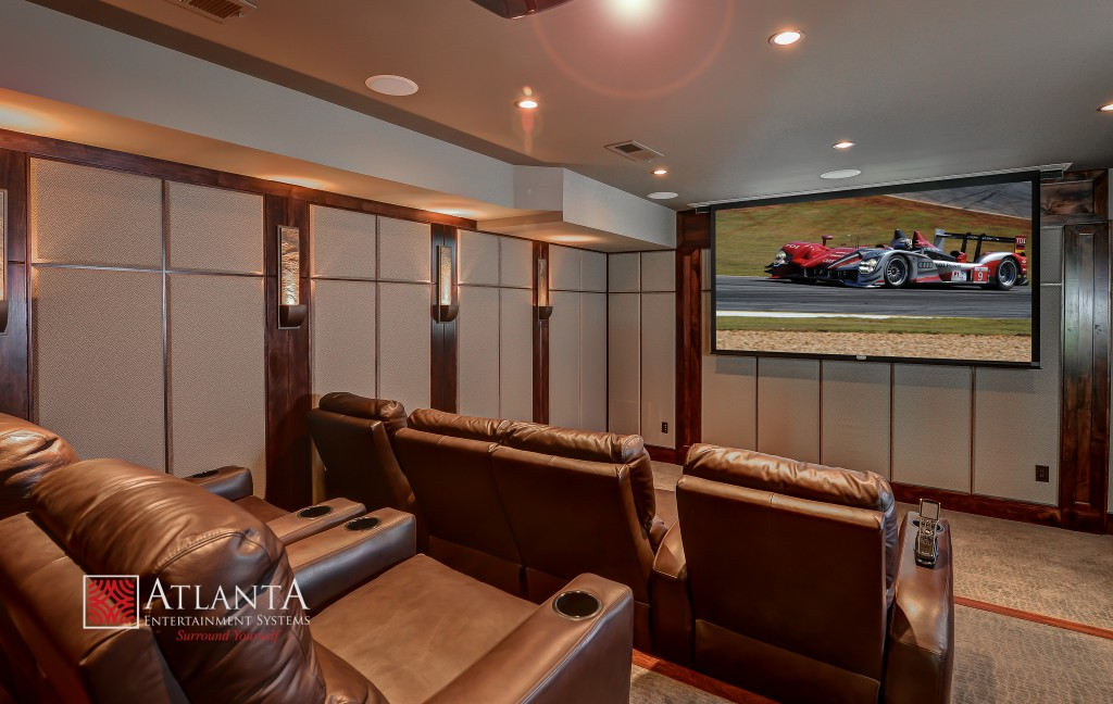 Home Theater Installation in Atlanta, Buckhead, Marietta, McDonough