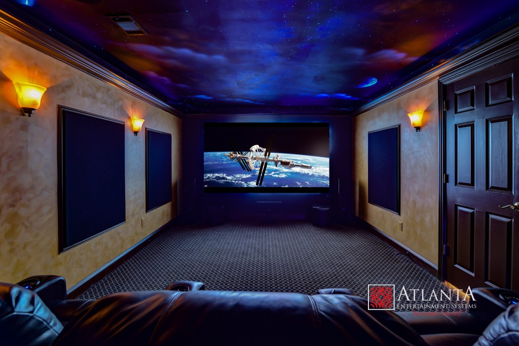 Home Theater Installation in Brookhaven GA, Fayetteville, McDonough