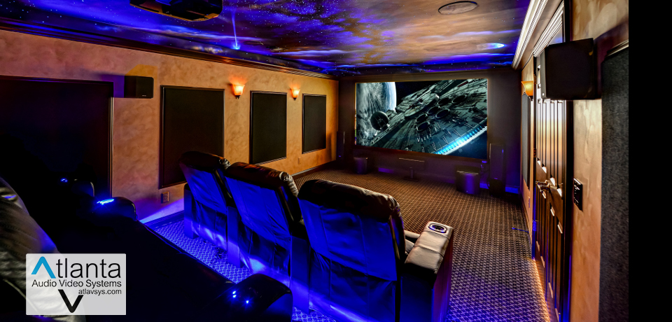 Home Theater Installation in Atlanta, Brookhaven GA, Fayetteville, Marietta